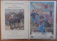 230 e 231 Annuario fondazione Guardia di Finanza 2004 2005 banda musicale