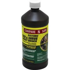 32 oz. Concentrated Systemic Tree And Shrub Insect Drench, Controls Aphids - New