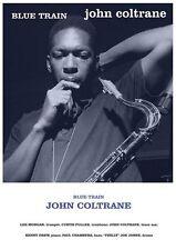 JOHN COLTRANE POSTER - BLUE TRAIN - RARE NEW HOT 24x36