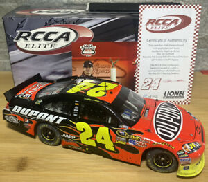 2011 JEFF GORDON 1/24 ELITE POCONO WIN
