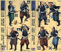 Tamiya 1/35 25411 Japanese Samurai (2) (8 Figures, Historical Miniatures Series)
