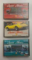 Cruisin Classics Cassette Tape Bundle of 3 Tapes Vol 1 Vol 3 Vol 5