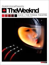 WEEKND THE FONDA THEATRE 2012 PRINT BY KII ARENS