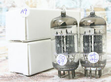 A9 Match pair GE 5 STAR 5751 12AX7 ECC83 tubes