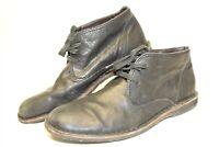 John Varatos F505L4BA7B001 Mens 10.5 M Casual Leather Hipster Chukka Boots