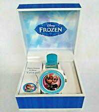 Disney's Frozen Children's Watch Elsa Anna with Box Plays Let it Go Digital