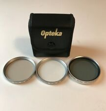 Lot of Opteka 52mm Camera Filters UV FD Polarizer High Definition