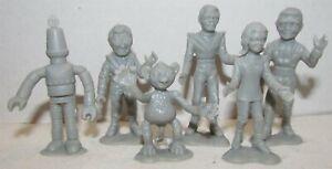 MPC Fireball XL-5 Character Figures Set Reproductions, set of 6 Steve Zodiac