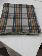 Una Manta de Lana Multi Color Vintage galés