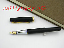 Calligraphy Fountain Pen Duke 209 Matte Black 22KGP calligraphy Nib Without Box