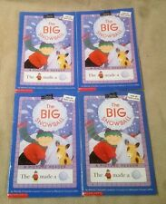 Lot 4 THE BIG SNOWBALL Books All Aboard Reading Picture Readers REBUS Guided VGC