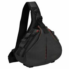 CADeN Camera Sling Backpack Case Waterproof w/ Rain Cover Tripod Holder