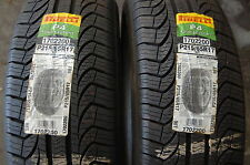 2(two) Pirelli 215/65R-17 P4 Four Seasons 215 65 17 new tires 98T