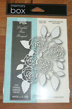 MEMORY Box English Rose Bouquet acciaio Craft DIE mb99139