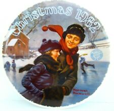 "Norman Rockwell ""Christmas Courtship"" ~ *Limited Edition / Collector Plate*"