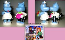 KINDER MAXI  1999 GERMANIA - HAPPY HIPPOS SPOSI + 1 CARTINA