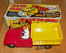 MARX TOYS AUTO MAC THE WONDER TRUCK DRIVER TOY RARE VINTAGE 1950's BOXED (908)