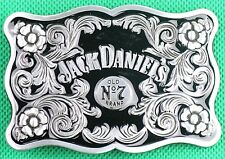"Belt Buckle ""Jack Daniel's"" 3.8cm Wide Belt, DIY, Custom Made, Metal Casting."