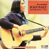 JOAN BAEZ - THE ESSENTIAL/FROM THE HEART  CD NEW+