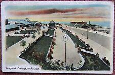 1914 Promenade & Gardens New Brighton Wallasey Postcard Merseyside Wirral