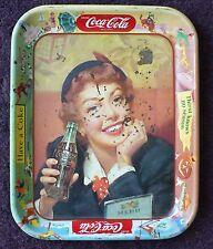 """ANTIQUE COCA COLA ADVERTISING TRAY  """" DRINK COCA COLA """""""