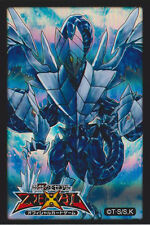 (50)Yugioh Trishula, Dragon of the Ice Barrier Card Sleeves holographic 63x90mm