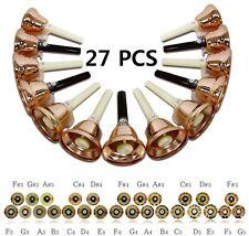 27PCS HANDBELL SET_ORCHESTRA HANDBELL_COPPER HANDBELLS TRADITIONAL CLAPPER