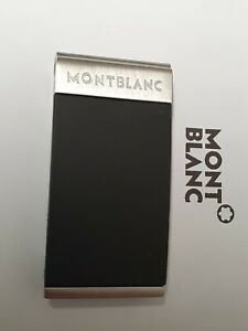 Mont Blanc Stainless Steel Money Clip