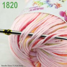 Sale 1 ball x 50g Cashmere Silk velvet Children hand knitting solid color Yarn O