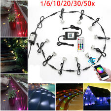 Wifi Control 31mm Rgb+Ww Led Decking Rail Light Outdoor Garden Patio Stairs Lamp