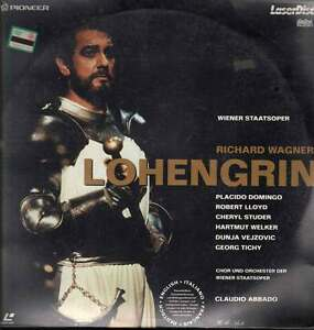 Lohengrin LASERDISC R. Wagner / P.Domingo / C.Abbado Nuovo Sigillato