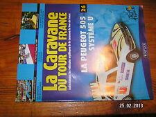 ¤ Fascicule Caravane Tour de France n°26 Peugeot 505 Quilfen Gimondi Tour 1997