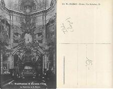 Roma RARA Beatificazione S. Giovanna d'Arco PARATURA IN S. PIETRO (R-L 057)
