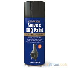 Rust-Oleum Stove and BBQ Heat Resistant Spray Paint Matt Black