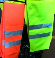 Orange Yellow hi vis waterproof Trousers High visibility all sizes worwear new