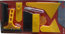 Vehicle Car Window Film Wrap Tint Application Installation Scraper Tools Set Kit