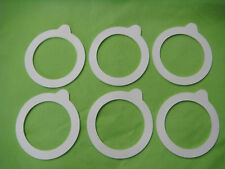FIDO SEALING RING GASKET FOR GLASS SEALING JAR 6/PACK BRAND-NEW FOR FIDO JARS
