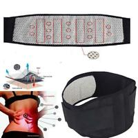 Waist Lumbar Disc Therapy Support Brace Belt Lumbar Magnetic Pain Relief Trimmer