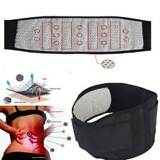 Waist Lumbar Disc Therapy Belt Support Brace Self-heating Magnetic Tourmaline