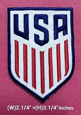 U.S.A Soccer  Logo Patch sport Embroidery for iron and sewing on clothes