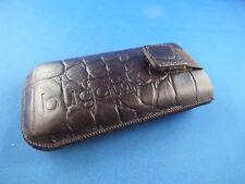 Bugatti Tasche Hülle Nokia 6610 6610i Handytasche Nostalgie Case Klassik Bronze