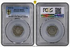 1/2 Mark Silver J.16 1919 E Brilliant Uncirculated PCGS Certified MS66 (36125)