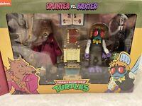 NECA Teenage Mutant Ninja Turtles TMNT Splinter vs Baxter Stockman New Sealed