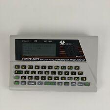 Vintage Rom-Tech Compu-dict English / hungarian translator / Dictionary