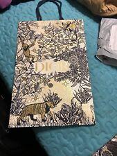 Dior Paper Shopping Bag 9.5x15