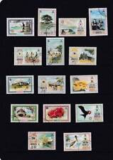 Birds Pictorial British Colony & Territory Stamps