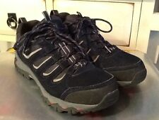 Karrimor Mount low weather Navy lace up shoes Waterproof Size 43/US 10 Men's