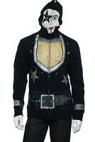 Volcom 'Kiss' Black Graphic Kiss Paul Stanley 'Starchild' Full Zip Hoodie