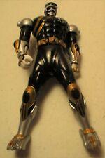 "Power Rangers-Bandai-Wild Force-Spin Action-Flip Head-Black-6""-2001-works"