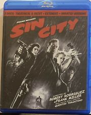 Sin City (Blu-ray Disc, 2009, 2-Disc Set, Spec Edition Recut & Extended)